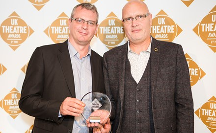 Stuart Stratford and Alex Reedijk at UK Theatre Awards.jpg