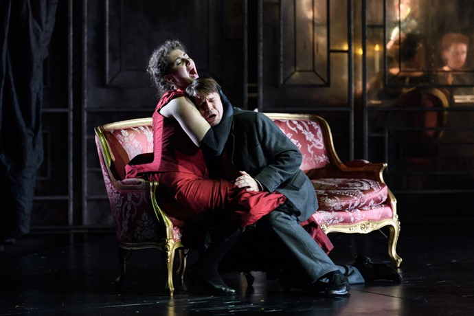 Anush Hovhannisyan as Violetta and Peter Gijsbertsen as Alfredo in La traviata. Scottish Opera 2017. Credit Jane Hobson. (3).jpg