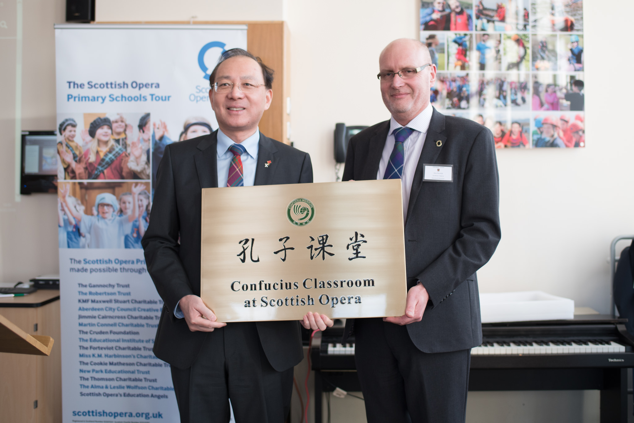 Chinese Consul General Pan Xinchun and General Director of Scottish Opera Alex Reedijk.jpg