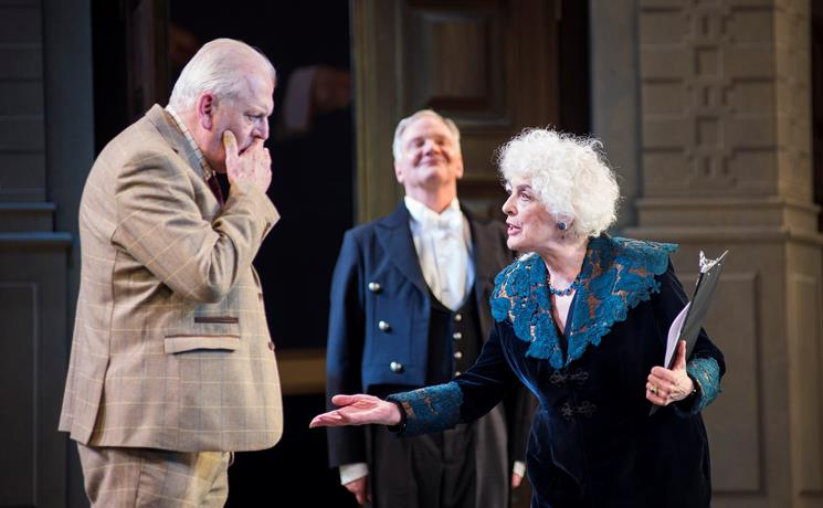 Eleanor Bron and Sir Thomas Allen in Ariadne auf Naxos. Scottish Opera 2018. Credit Richard Campbell. (2).jpg