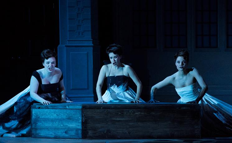 Lucy Hall, Elizabeth Cragg and Laura Zigmantaite in Ariadne auf Naxos. Scottish Opera 2018. Credit Richard Campbell..jpg