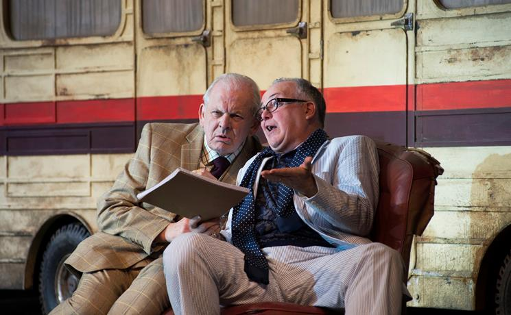 Sir Thomas Allen and Jamie MacDougall in Ariadne auf Naxos. Scottish Opera 2018. Credit Richard Campbell..jpg