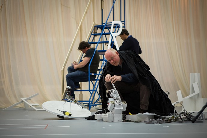 Mark Le Brocq and cast in rehearsal for Anthropocene. Scottish Opera 2018. Credit Nadine Boyd.jpg