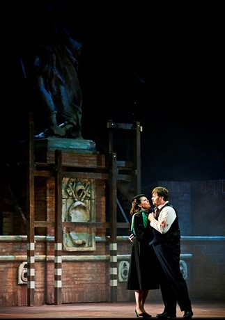 Scottish Opera's Tosca. Susannah Glanville and Jose Ferrero as Tosca and Cavaradossi. Credit Mark Hamilton.jpg