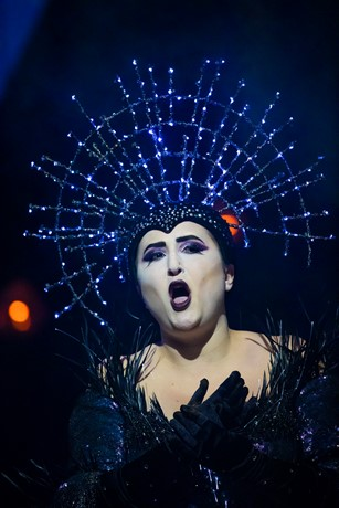 Julia Sitkovetsky (The Queen of the Night) in The Magic Flute. Scottish Opera 2019. Credit James Glossop (2).JPG