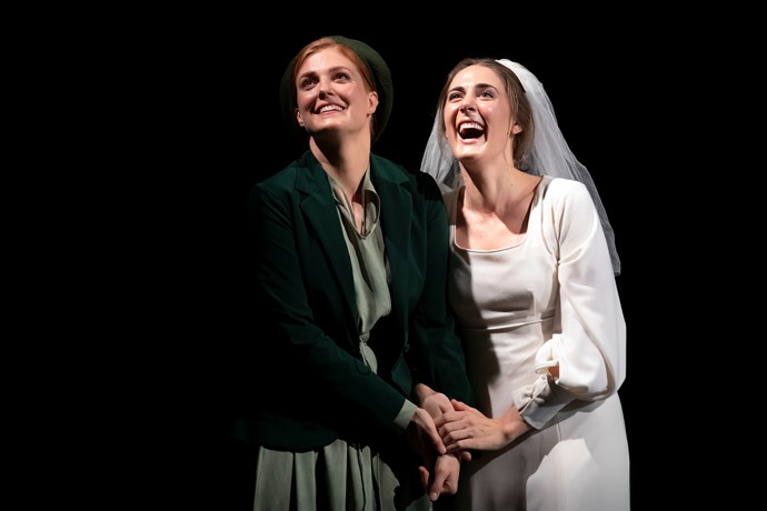 Wallis Giunta (Dodo) and Sydney Mancasola (Bess) in Breaking the Waves. Credit James Glossop..JPG