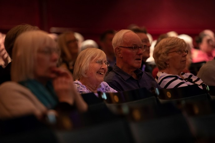 Scottish Opera's Dementia Friendly performance of The Magic Flute at Theatre Royal Glasgow. Scottish Opera 2019. Credit James Glossop. (4).JPG