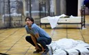 Dan Armstrong (Puck) in A Midsummer Night's Dream rehearsals. Scottish Opera 2020. Credit Julie Howden..JPG
