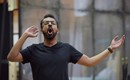 Michel de Souza (Demetrius) in A Midsummer Night's Dream rehearsals. Scottish Opera 2020. Credit Julie Howden..JPG