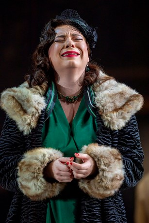 Natalya Romaniw (Tosca) at Pre-Gen. Scottish Opera 2019. Credit James Glossop.JPG