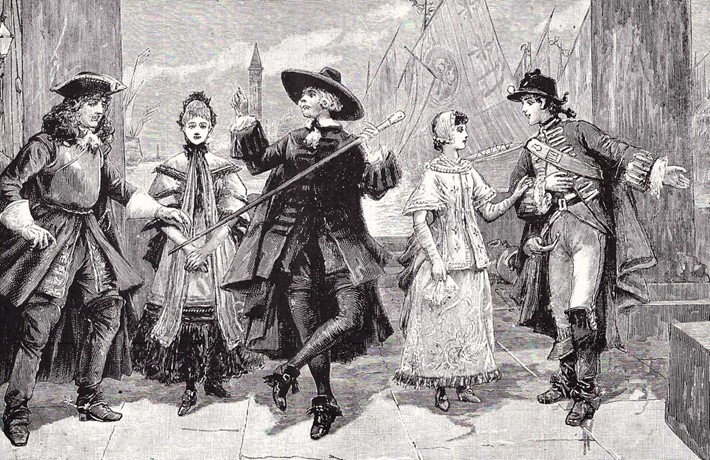 Scene from Act I of The Gondoliers, 1891.jpg